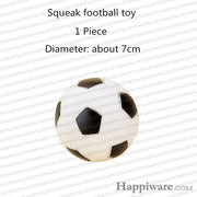 Rubber Squeak for Dog Screaming Chicken Chew Toys - football dog toy / Size as picture show