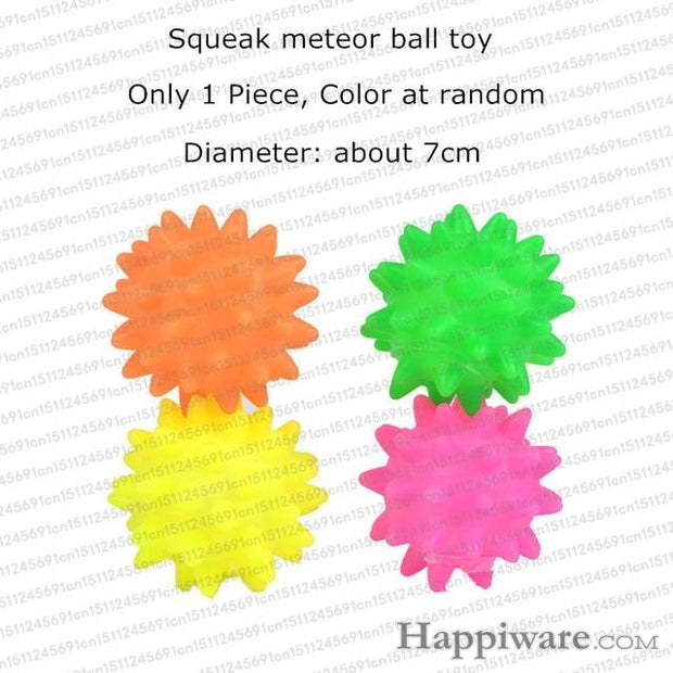 Rubber Squeak for Dog Screaming Chicken Chew Toys - metero ball dog toy / Size as picture show