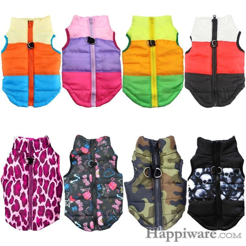 Warm Clothing for Dog Jacket Puppy Pet