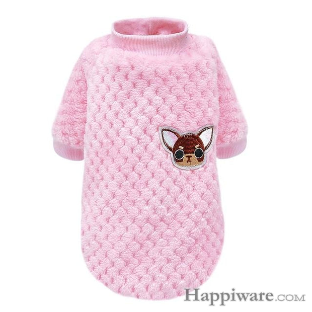 Winter Dog Clothing Pet Puppy Jacket - Pink / XXL