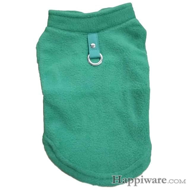 Winter Fleece Pet Clothes for Dogs Puppy Clothing