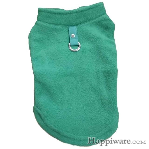 Winter Fleece Pet Clothes for Dogs Puppy Clothing - Green / L
