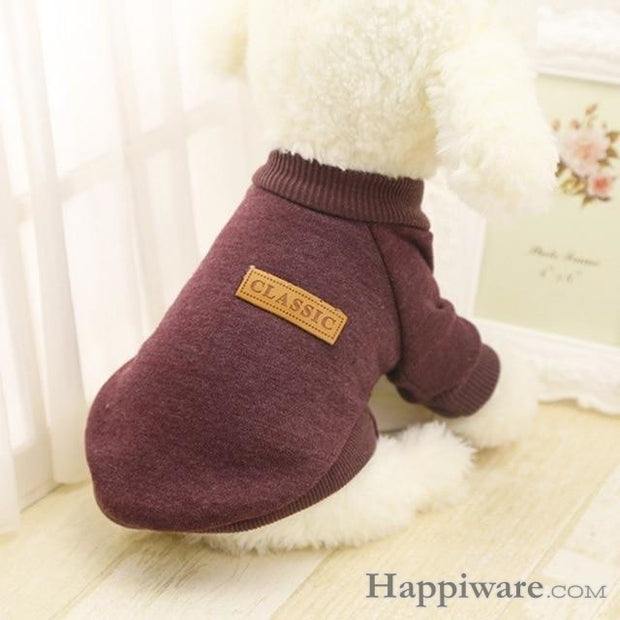 Winter Soft Sweater Clothing For Small Dogs - C / L / China
