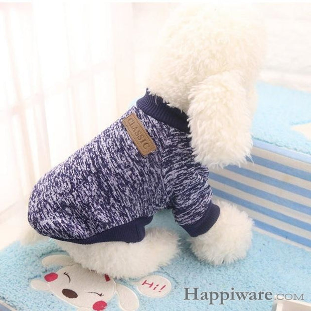 Winter Soft Sweater Clothing For Small Dogs - DL / L / China