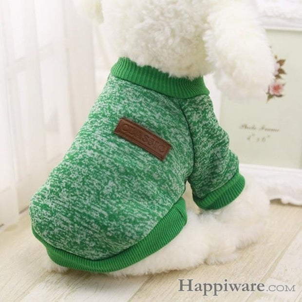 Winter Soft Sweater Clothing For Small Dogs - G / L / China