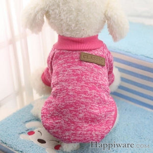 Winter Soft Sweater Clothing For Small Dogs - M / L / China