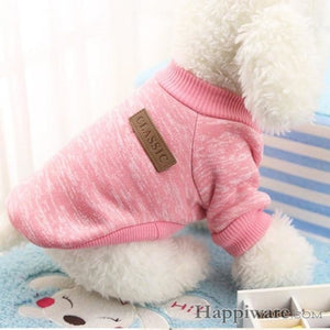 Winter Soft Sweater Clothing For Small Dogs - P / L / China