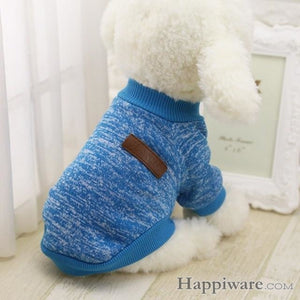 Winter Soft Sweater Clothing For Small Dogs - QL / L / China