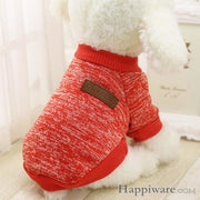 Winter Soft Sweater Clothing For Small Dogs - R / L / China
