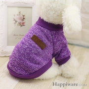 Winter Soft Sweater Clothing For Small Dogs - Z / L / China