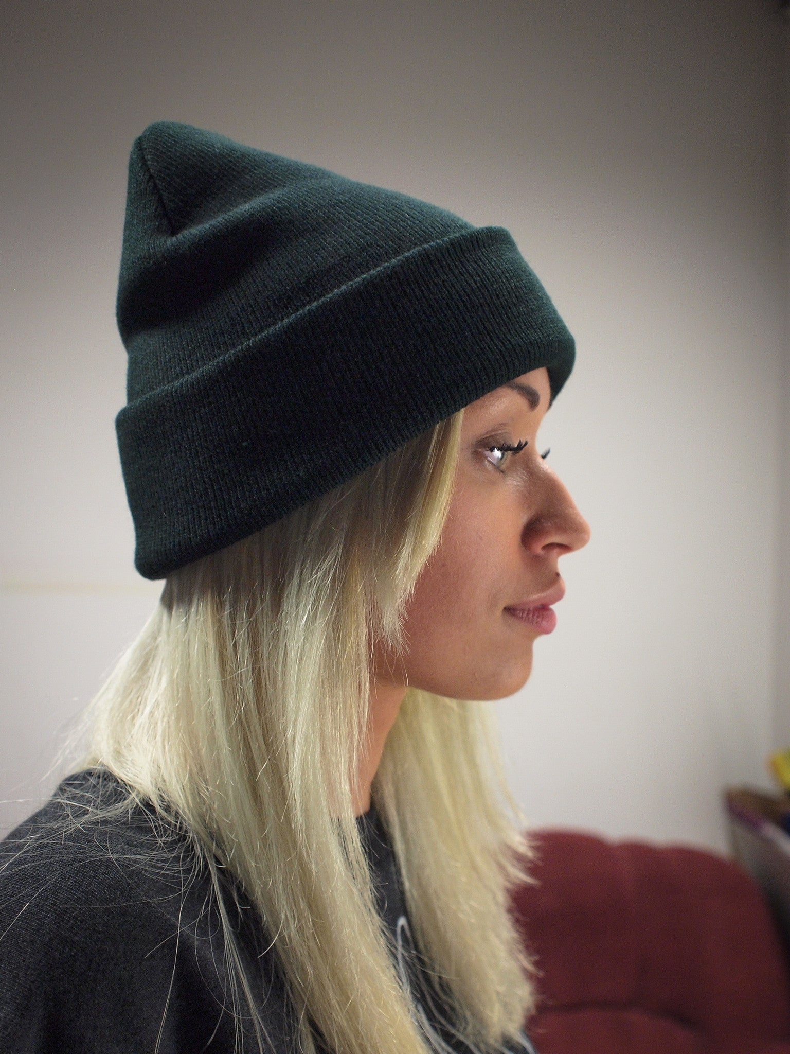 Winterhat Dark Green - HEAVY MENTAL  - 3