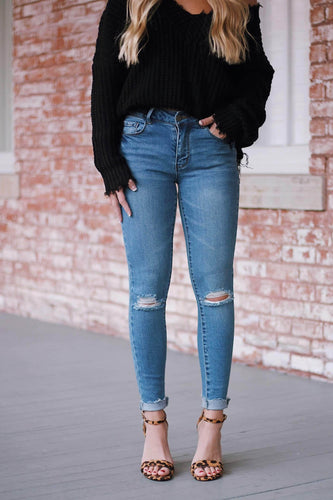 Lane Distressed Skinny