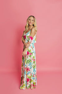 Seaside Maxi Dress- White