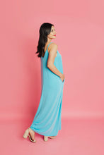 Load image into Gallery viewer, Around Town Maxi Dress - Milky Blue