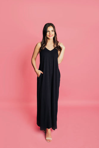 Around Town Maxi Dress - Black