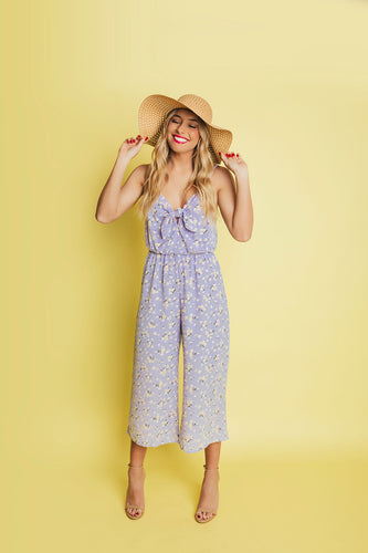 Garden Party Floral Jumpsuit