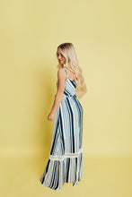 Load image into Gallery viewer, Love Like Crazy Maxi Dress- Blue
