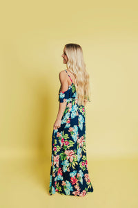 Seaside Maxi Dress- Navy