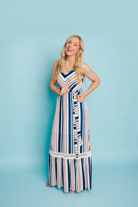 Love Like Crazy Maxi Dress- Pink