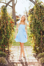 Load image into Gallery viewer, Ruffle Girl Dress- Blue