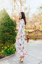 Load image into Gallery viewer, Fearless Floral Maxi Dress- Ivory