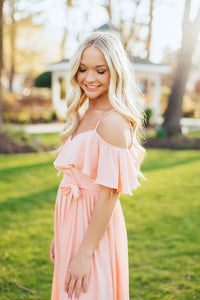 Island Sunset Maxi Dress