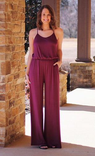 Castaway Pocketed Jumpsuit
