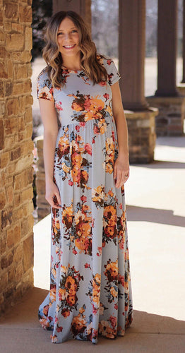 Flower Me With Love Maxi Dress