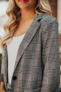 Woodlands Plaid Blazer