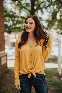 Basic Thermal Knit - Mustard