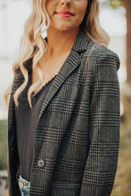 Load image into Gallery viewer, Woodlands Plaid Blazer