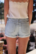 Load image into Gallery viewer, Palmer Cuffed Denim Shorts