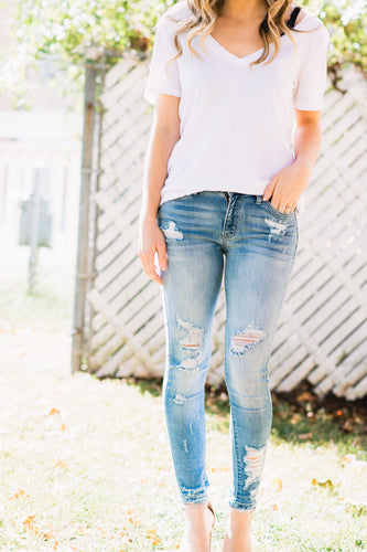 Ashtin Distressed Skinny