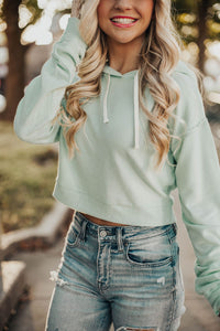 Take It Easy Hoodie- Neon Mint
