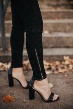 Load image into Gallery viewer, Forever Suede Zip Legging