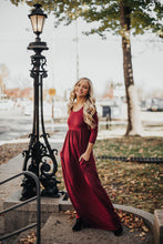 Load image into Gallery viewer, Back For Me Maxi- Burgundy