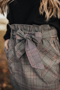 Kennedy Plaid Skirt