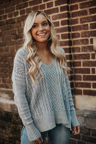 Fireside Cable Knit Sweater