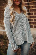 Load image into Gallery viewer, Fireside Cable Knit Sweater
