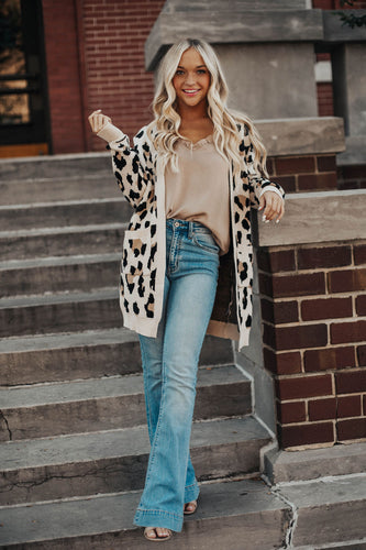 Wild For Leopard Cardigan