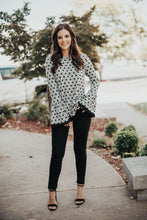 Load image into Gallery viewer, Cute Stuff Polkadot Bell Sleeve Knit