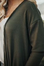 Load image into Gallery viewer, Everyday Thermal Cardigan - Olive