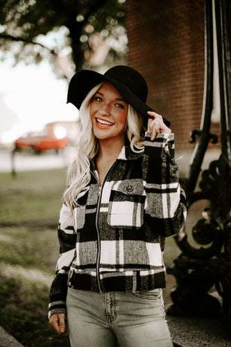 Bonfire Stories Plaid Jacket