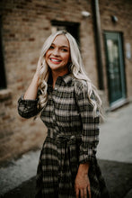 Load image into Gallery viewer, Keep It Cute Plaid Dress