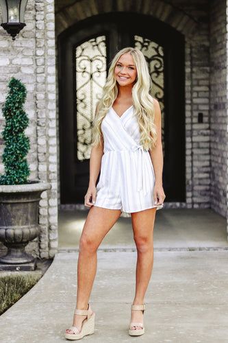 Brighten My Heart Romper