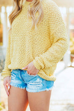 Load image into Gallery viewer, Spring Breeze Light Knit Sweater - Yellow