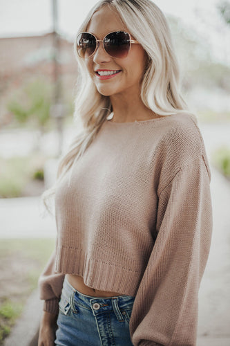 All Good Things Sweater-Blush