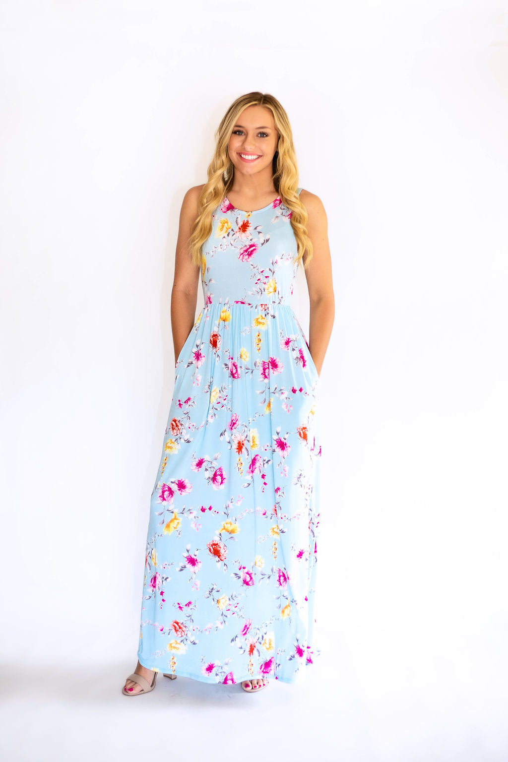Sunday Chic Floral Maxi