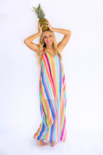 Load image into Gallery viewer, Over The Rainbow Stripe Maxi