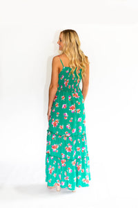 Vacation Mode Floral Maxi